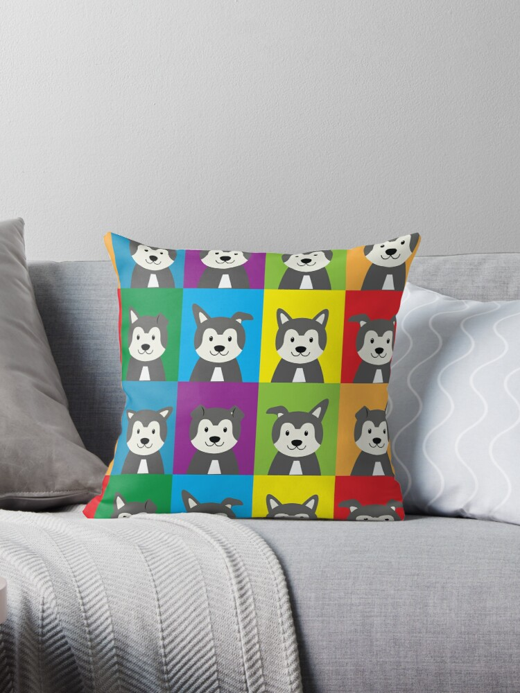 Cute huskies, Husky  by handcraftline