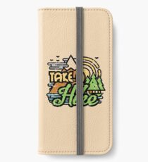 Take A Hike iPhone Wallet/Case/Skin
