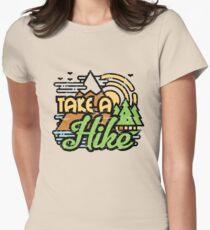 Camiseta entallada para mujer Hacer una caminata
