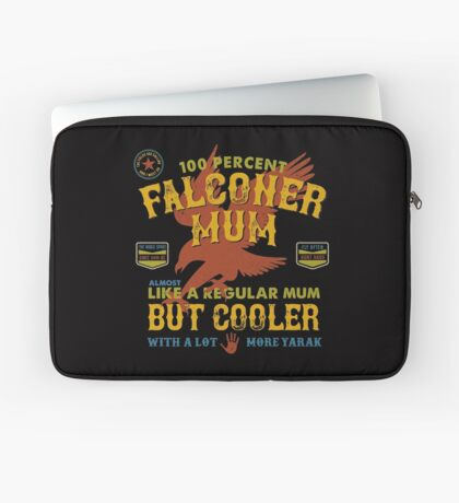 Fun Falconer Mum for Hawking Mums and Falconry Mothers Laptop Sleeve