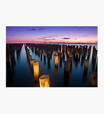 Princess Pier - Port Melbourne Photographic Print