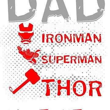 Superhero Dad by BlackRain1977