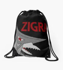 Zigra - Black Drawstring Bag