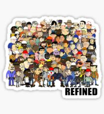 Refined Group Glossy Sticker