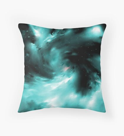 THE RESTLESS WIND Throw Pillow