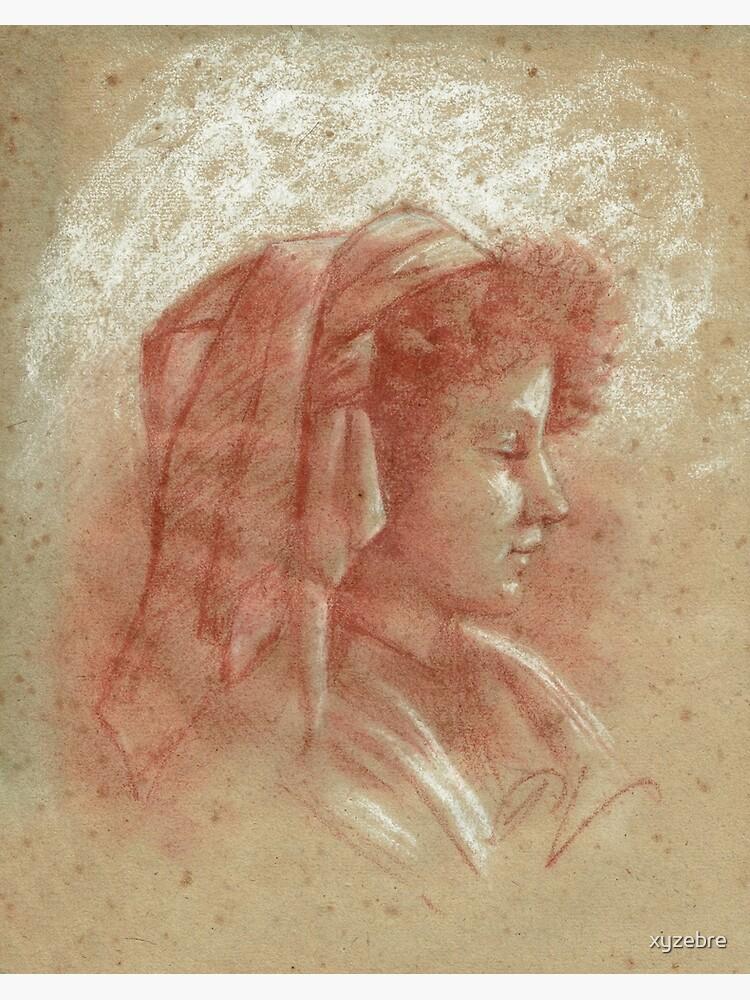 «Portrait d'une jeune fille (2)» par xyzebre