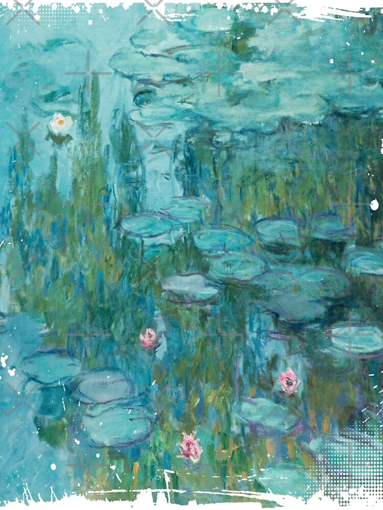Water Lilies, c. 1915- Claude Monet by Ice-Tees