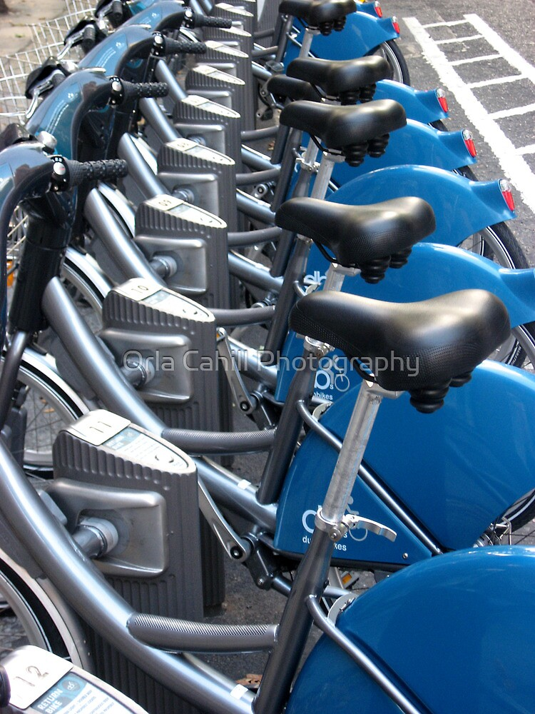 Bikes Pattern by Orla Cahill Photography