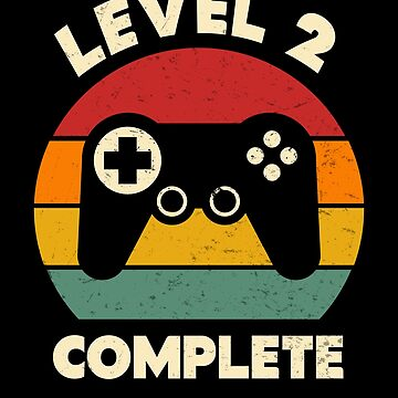 Level 2 Complete Vintage Gamer 2nd Wedding Anniversary by SpecialtyGifts