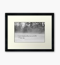 I Create Framed Print