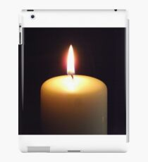 Candle flame..... iPad Case/Skin