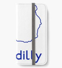 London Underground Piccadilly Line Map iPhone Wallet/Case/Skin