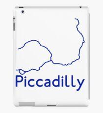 London Underground Piccadilly Line Map iPad Case/Skin