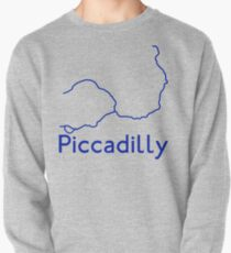 London Underground Piccadilly Line Map Pullover