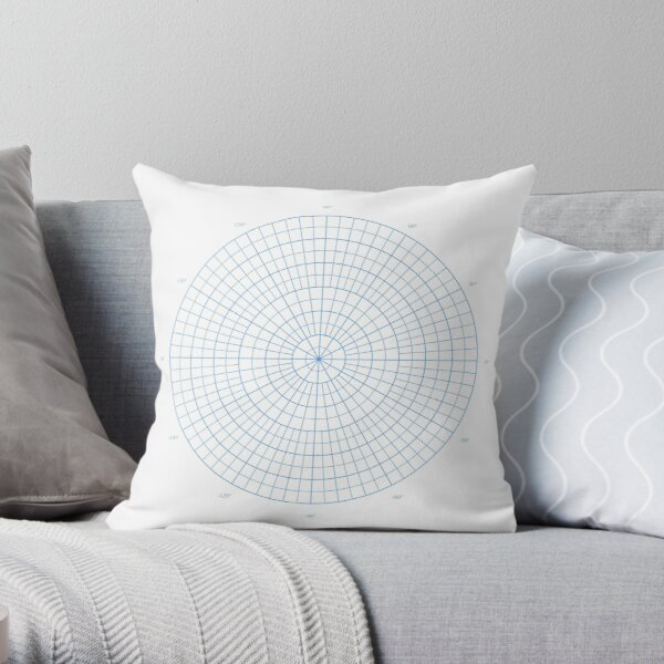 #circle, #structure, #sphere, #design, #illustration, #abstract, #pattern, #modern Throw Pillow