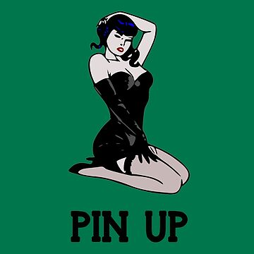 Pin up girl retro vintage by untagged-shop