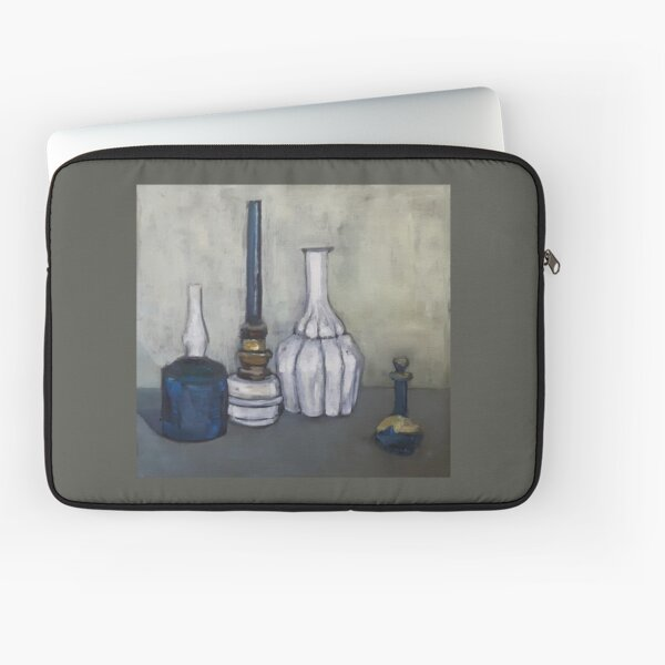 Study in oil after G. Morandi Laptop Sleeve
