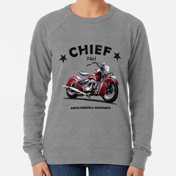 Classic Legend Riders Club Mens Biker Sweatshirt Motorbike Indian Motorcycle