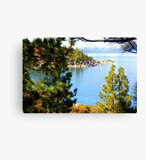 """Tahoe Inlet"" Canvas Print"