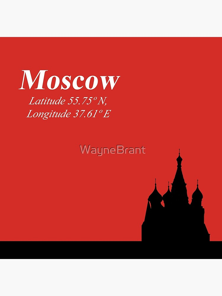 moscow latitude and longitude tote bag by waynebrant redbubble redbubble