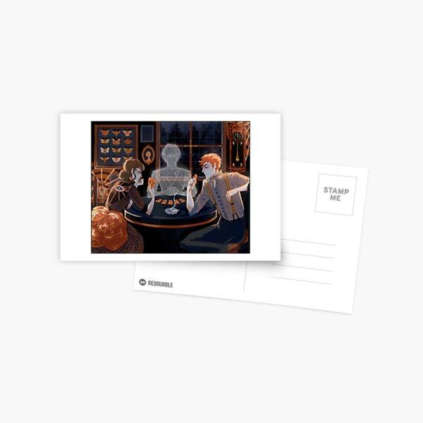 Un marchand capricieux Carte postale