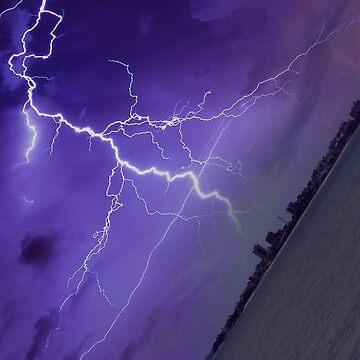 Lightning Strikes 2 by loganferret