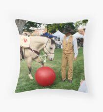 Sundance the Horse  Throw Pillow