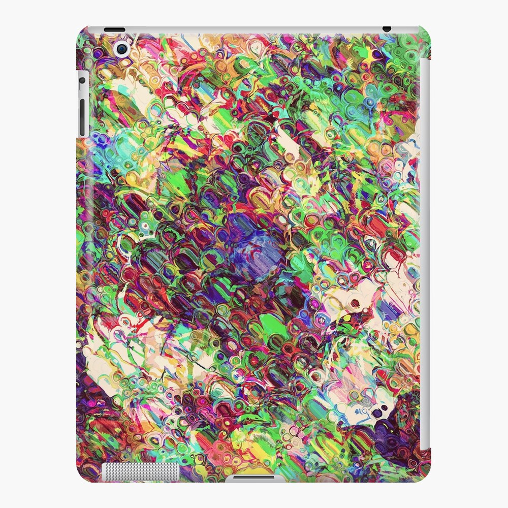 Colorful Abstract Shapes iPad Case & Skin