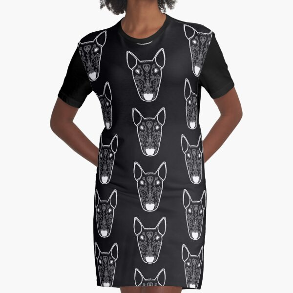 Ghost Mexican Bully Graphic T-Shirt Dress