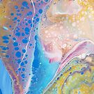 Paint Pour #2 & Paint Dolphin by whimsystation