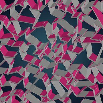 3D Mosaic BG by uniqueD
