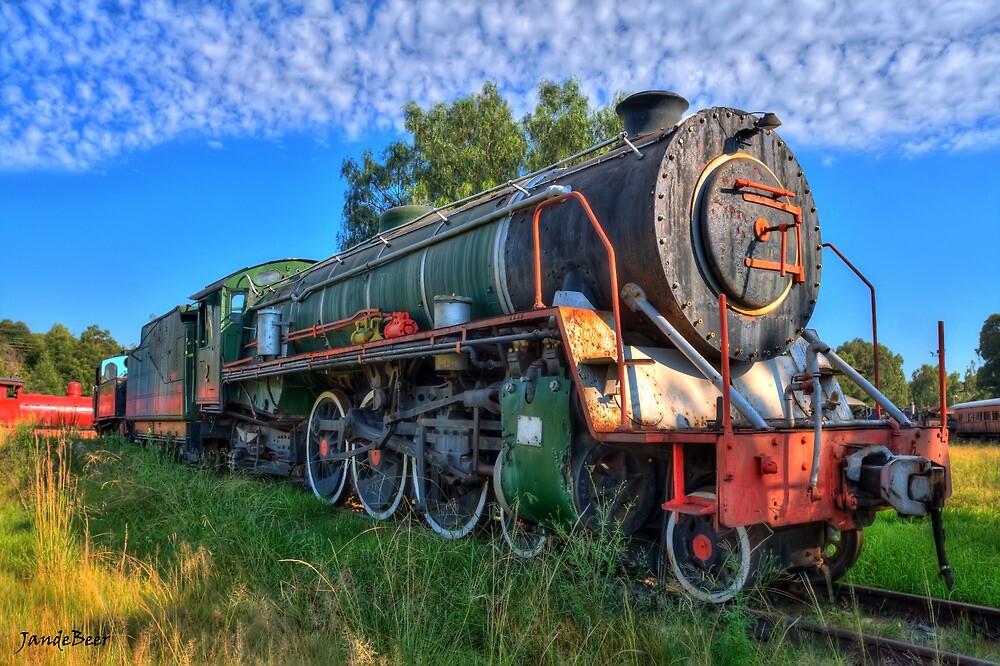 Old Steam Loco by JandeBeer