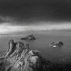 Pentire east , north Cornwall coast by eddiej