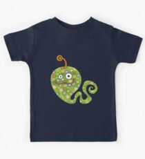 Green Worm Kids Clothes