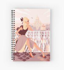 Sacré Coeur Spiral Notebook