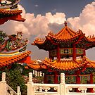 Thean Hou Temple - Kuala Lumpur by Peter Rattigan