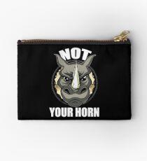 VeganChic ~ Not Your Horn Zipper Pouch