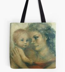 Madonna in modern time Tote Bag