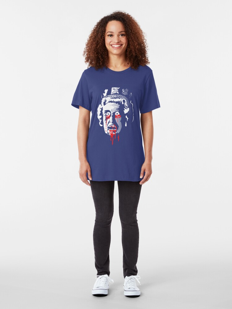 Alternate view of Zombie Queen Slim Fit T-Shirt