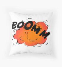 Boomm Throw Pillow