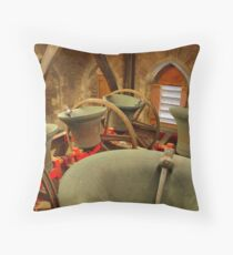 St. Annes Church Bells Throw Pillow