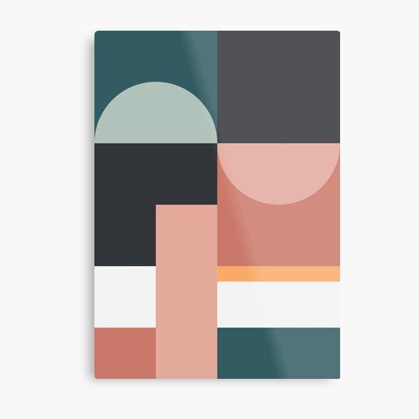 Abstract Geometric 07 Metal Print