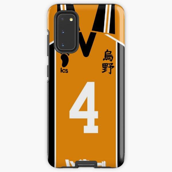 HAIKYUU!! NISHINOYA YUU JERSEY PHONE CASE KARASUNO ANIME SAMSUNG GALAXY + IPHONE Samsung Galaxy Tough Case