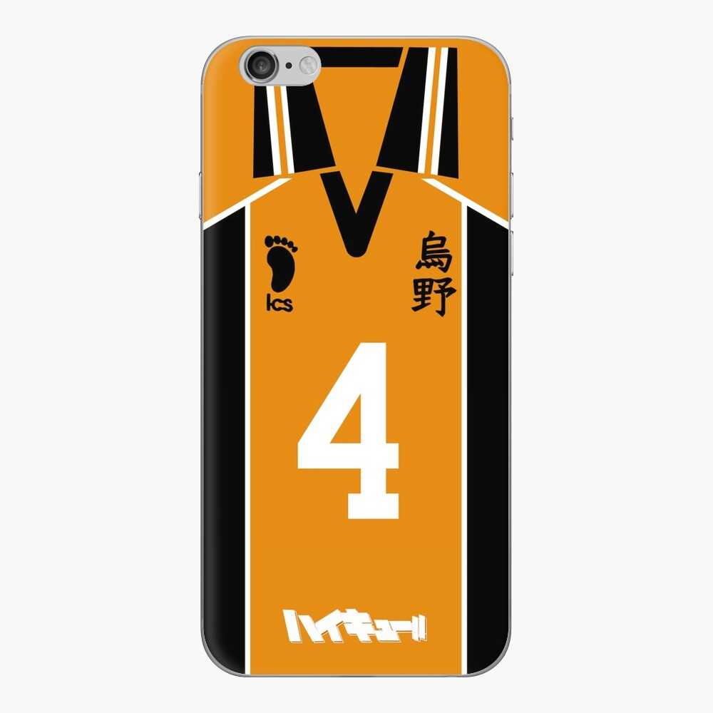 HAIKYUU!! NISHINOYA YUU JERSEY PHONE CASE KARASUNO ANIME SAMSUNG GALAXY + IPHONE iPhone Klebefolie