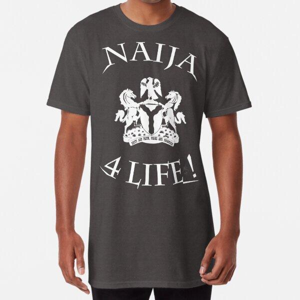 Naija 4 life Long T-Shirt