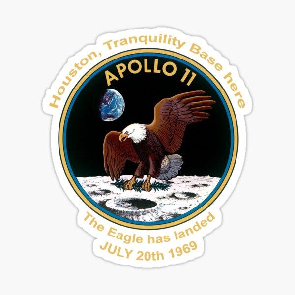 NASA Apollo 11 Flight Patch The Eagle has landed Sticker