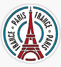 Paris, France  Sticker