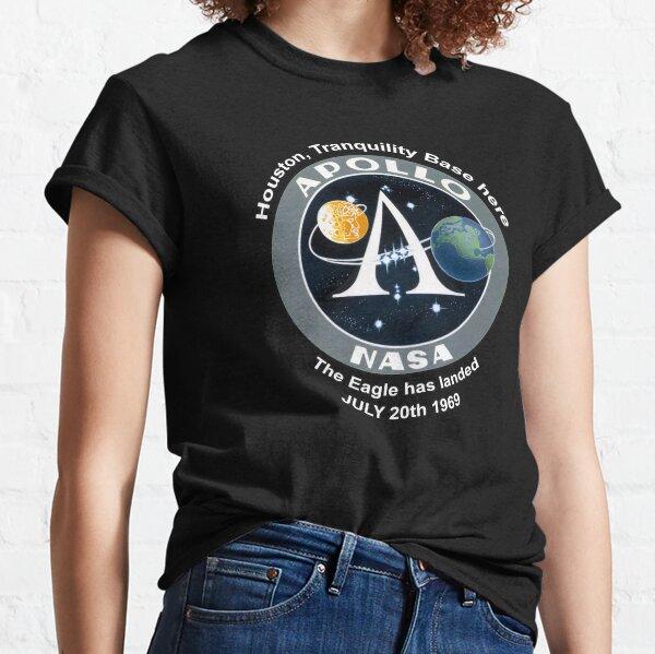 NASA Apollo Program Patch The Eagle has landed Classic T-Shirt