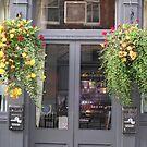 Pub & Flowers by Christine  Wilson