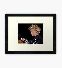 I am the eldest! Framed Print